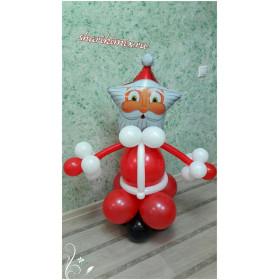 Дед мороз из шаров №4