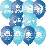С Днем Рождения Малыш голубое