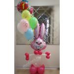 Заяц с шарами