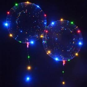 Шар Баблс со светодиодной лентой