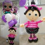 Девочка Лол и гелиевые шары