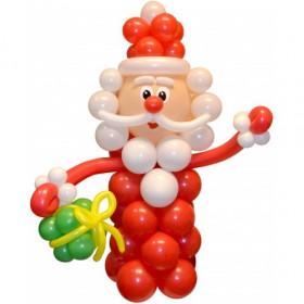 Дед мороз из шаров №2
