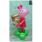 Свинка Пеппа с цифрой