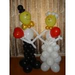 Жених и Невеста и шаров
